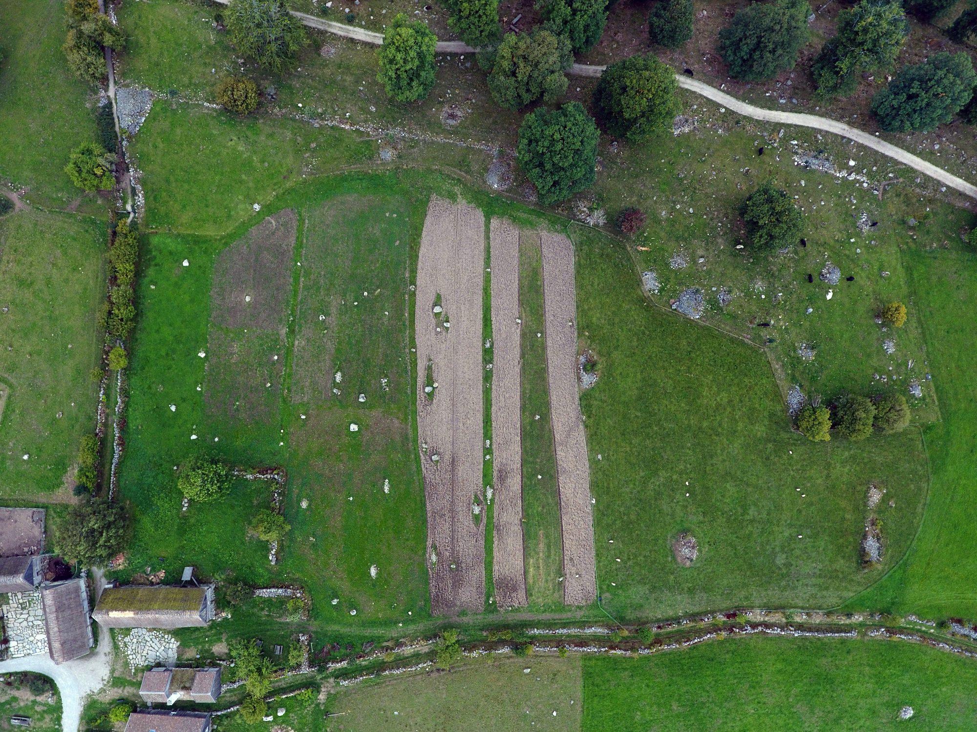 Jönsas Field, drone photo